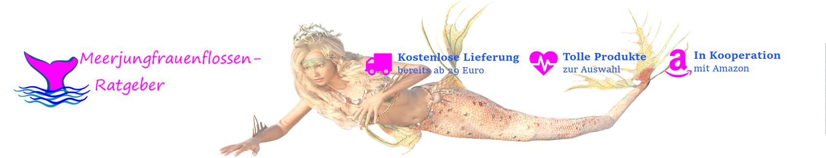 Meerjungfrauenschwanz Meerjungfrau Header